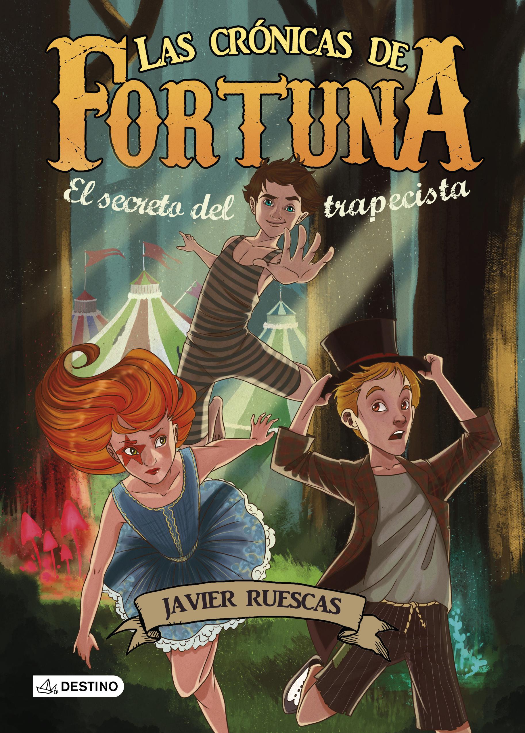 """Presentación de """"Las crónicas de Fortuna. El secreto del trapecista"""""""