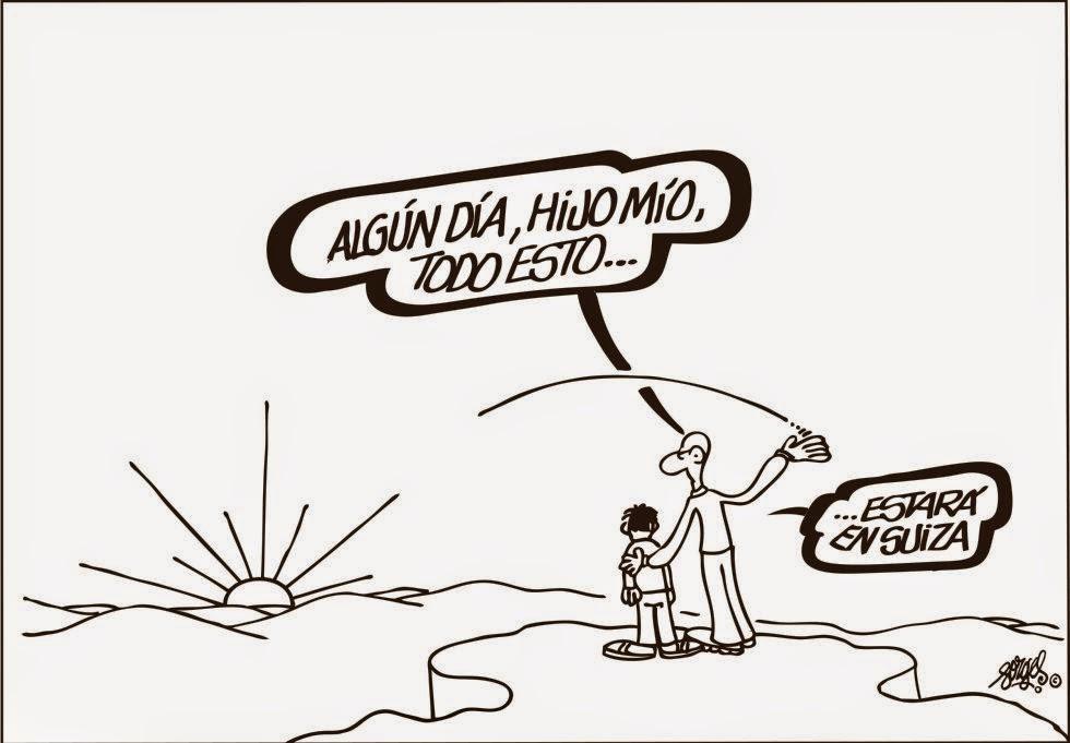 Viñeta de Forges publicada por el diario El País